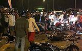 Xe máy tông nhau trên cầu, 2 người chết