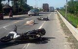 Va chạm với xe đầu kéo, một du khách nước ngoài tử vong tại chỗ