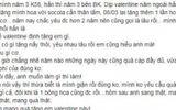 Combo quà độc Valentine: Tặng người yêu 2 cân giò, bánh kẹo thừa sau tết và hoa hồng xin mẹ