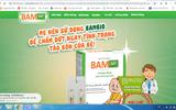 Thực phẩm BVSK Bambio có đang quảng cáo sai phép?