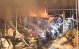 Tin tức - Cháy dữ dội tại nhà máy giấy ở Thừa Thiên- Huế