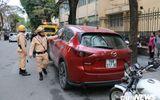 CSGT Hà Nội cẩu hàng loạt ô tô dừng đỗ sai trước thềm Hội nghị Mỹ - Triều