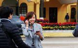 """Dân mạng chia sẻ rần rần hình ảnh nữ phóng viên Hàn Quốc có nụ cười """"đốn tim"""""""