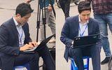 Xuất hiện phóng viên Hàn Quốc tác nghiệp ở Hà Nội điển trai hơn cả minh tinh điện ảnh