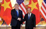 Thủ tướng Nguyễn Xuân Phúc đón Tổng thống Hoa Kỳ Donald Trump