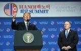 Tổng thống Mỹ Donald Trump rời Hà Nội ngay sau cuộc họp báo