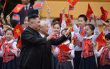 Toàn cảnh lễ đón chính thức Chủ tịch Triều Tiên Kim Jong-un tại Phủ Chủ tịch