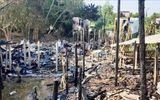 """""""Bà hỏa"""" ghé thăm trong đêm, 9 căn nhà bốc cháy ngùn ngụt"""