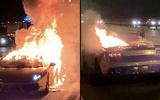 """Siêu xe Lamborghini mạ vàng bốc cháy sau khi đi bảo dưỡng khiến chủ nhân """"đứt ruột"""""""