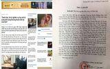 """CA huyện Hoằng Hóa (Thanh Hóa) cảm ơn báo ĐS&PL """"giúp sức"""" truy bắt nhóm côn đồ dùng hàng """"nóng"""""""