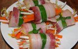 Món ngon mỗi ngày: Thịt ba chỉ cuộn rau đơn giản cho đấng mày râu vào bếp ngày 8/3