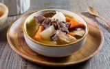 Món ngon mỗi ngày: Bò hầm củ cải trắng cho ngày cuối tuần se lạnh