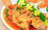 Món ngon mỗi ngày: Cá diêu hồng sốt cà chua siêu ngon hấp dẫn cả nhà