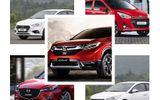 """Top 10 mẫu xe bán chạy tháng 2/2019: Honda CR-V đánh bại """"ông vua doanh số"""" Toyota Vios"""
