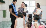 Nam vương siêu quốc gia cùng Minh Trung, Võ Cảnh đi từ thiện tại Việt Nam