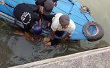 Thi thể người đàn ông khoảng 70 tuổi trôi lập lờ trên sông ở Tiền Giang