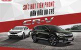 Pháp luật - Honda CR-V thể hiện sức hút dẫn đầu với 961 xe trong tháng 2