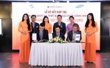 Kinh doanh - Hai ông lớn Viettel và Samsung bắt tay hợp tác với website BĐS Cenhomes.vn