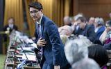 Tin thế giới - Thủ tướng Canada chính thức xin lỗi vì trót ăn một thanh sô cô la trong cuộc họp