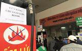 Kinh doanh - Nhiều cây xăng tại Hà Nội dán thông báo dừng bán RON 95