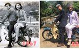 """Bức ảnh """"ngày ấy – bây giờ"""" của cặp vợ chồng già khiến nhiều người ngưỡng mộ"""