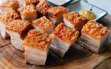 Món ngon mỗi ngày: Thịt ba chỉ áp chảo ngũ vị hương thơm ngon cho bữa trưa