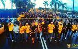 Ultras Malaya sang Mỹ Đình cổ vũ đội nhà tại bán kết lượt về