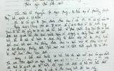 Lá thư nạn nhân xin tha chết cho Hồ Duy Trúc gây tranh cãi