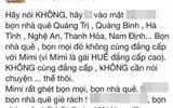Cô gái Huế buông lời vô cảm miệt thị dân Thanh Hóa, Nghệ An