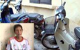 Trộm xe máy cũ của người đi chợ để... bán phế liệu