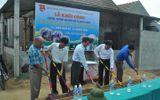 Xây dựng bến đò ngang cho học sinh vùng lũ ở Quảng Bình