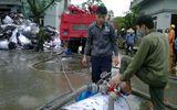 Cháy nhà máy giấy ở Bắc Ninh: Cảnh sát trắng đêm dập lửa