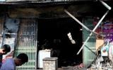 Hà Nội: Cháy cửa hàng tạp hóa, 5 người thương vong