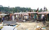 Hà Giang: Cháy chợ ở huyện Xín Mần, 11 gian hàng bị thiêu rụi