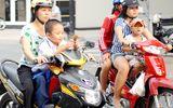 Trẻ từ 6 tuổi không đội mũ bảo hiểm sẽ bị phạt tới 200.000 đồng