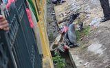 Người đàn ông đi xe máy bị tàu hỏa tông văng 10 mét tử vong