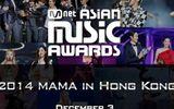 Lễ trao giải Âm nhạc châu Á 2014 được phát sóng trên VTV6