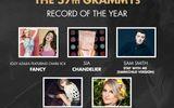 Beyonce và Sam Smith thâu tóm đề cử Grammy 2015