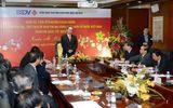 Ông Nguyễn Thiện Nhân thăm và chúc Tết ngân hàng BIDV