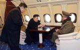 Lộ ảnh nhà lãnh đạo Kim Jong-un ngồi trên chuyên cơ siêu sang