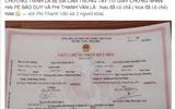 Phi Thanh Vân khoe giấy đăng ký kết hôn