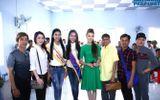 Hoa hậu Việt Nam Thế giới 2014 về quê nghèo làm từ thiện