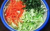 Cách muối dưa bắp cải ngon giòn đúng vị
