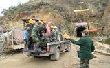 Hình ảnh đáng nhớ của những chiến sỹ công binh cứu hộ sập hầm thủy điện