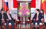 Chủ tịch nước Trương Tấn Sang tiếp Phó Chủ tịch Lào và Phó Thủ tướng Campuchia