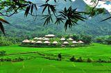 Khu nghỉ dưỡng sinh thái giữa núi rừng Mai Châu