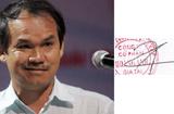 Chữ ký đơn giản của 8 tỷ phú đô la Việt Nam