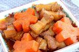 Ẩm thực - Trổ tài với món thịt ba chỉ kho cà rốt ngon xuýt xoa