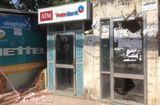 An ninh - Hình sự - TP.HCM: Kẻ gian dùng gậy sắt phá trụ ATM để trộm