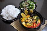 Ăn - Chơi - Cuối tuần ngon cơm với món ốc nấu chuối đậu thơm nức